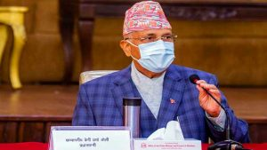प्रधानमन्त्रीद्वारा वडाध्यक्ष सुवेदीलाई टेलिफोन गर्दै अयोध्यापुरीको अध्ययन गर्न अनुरोध