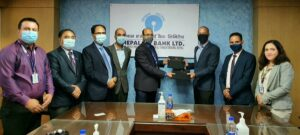नेपाल एसबिआई बैंकले आइसिएफसी फाइनान्सका ग्राहकहरुलाई आवश्यकता पर्ने गैर कोषमा आधारित बैकिंङ सुविधा