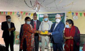 कृषि विकास बैंकद्धारा दक्षिणकालीका किसानलाई 'किसान क्रेडिट कार्ड' वितरण