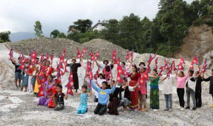 गीतकार तामाङको 'नेपाल आमा' सार्वजनिक