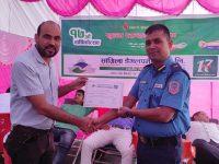 सांग्रिला बैंकद्वारा निःशुल्क स्वास्थ्य शिविर तथा रक्तदान कार्यक्रम